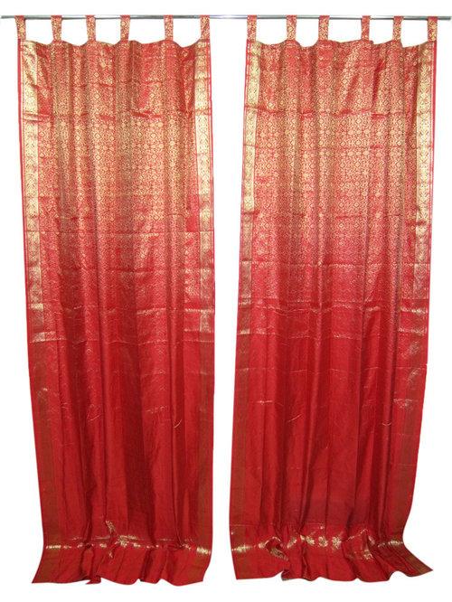 indian style silk curtains home design ideas