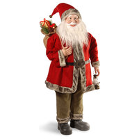 """36"""" Santa With Red Jacket"""