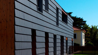 Plasma roof tile can be used on facade