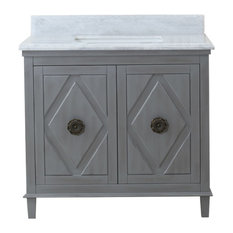 "Bay - Juniper Single Vanity, 36"" - Bathroom Vanities and Sink Consoles"