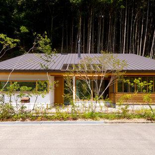 Immagine della facciata di una casa scandinava