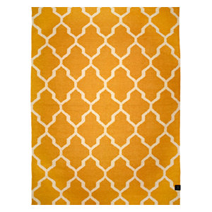 Classic Collection Tangier Area Rug, Honey Gold, 300x200 cm