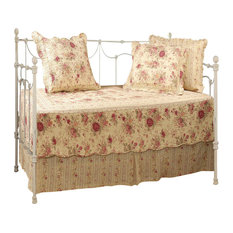 Greenland Home Antique Rose Daybed Set, 5 Piece Daybed