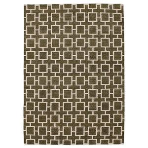 Kelim Indian Notes Oriental Rug, India Hand-Woven Designer, 200x140 cm