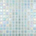 "Vidrepur - 12.5""x12.5"" Shell Mystic 554 Glass Tile - Quick Overview:"