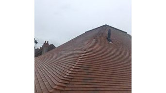 New Worcester combination boiler in roof space
