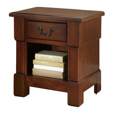 Home Styles Aspen Night Stand In Rustic Cherry