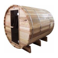 Aleko 6 Person Cedar Sauna With ETL Electrical Heater