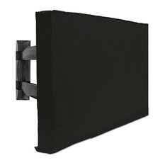 "Outdoor TV Cover - 32"" Model For 30"" - 34"" Flat Screens - Weatherproof - Black"
