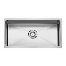 "Undermount Stainless Steel Kitchen Sink, 30"", Single Bowl"