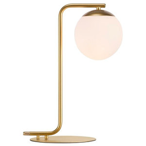 Grant Table Lamp, Brass