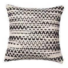 "Loloi Inc. 22""x22"" Pillow, Gray and Multi"