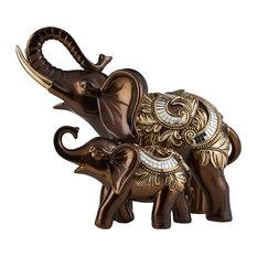 """10""""H Daliyah Decorative Elephant"""