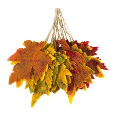 Felt So Good Autumnal Leaves Christmas Decoration