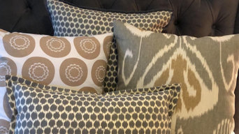 Custom Pillows, Drapes, and Upholstery