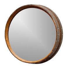 alpine wine design napa valley wine barrel mirror wall mirrors alpine wine design outdoor finish wine barrel