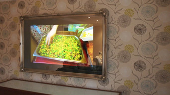 Mirror TV's. Designer Vision can supply 100's of different styles and ideas.
