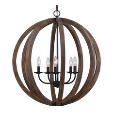 Feiss F2936/5 Allier 5 Light Chandelier