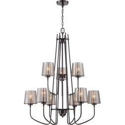 Perfect Transitional Chandeliers by Build