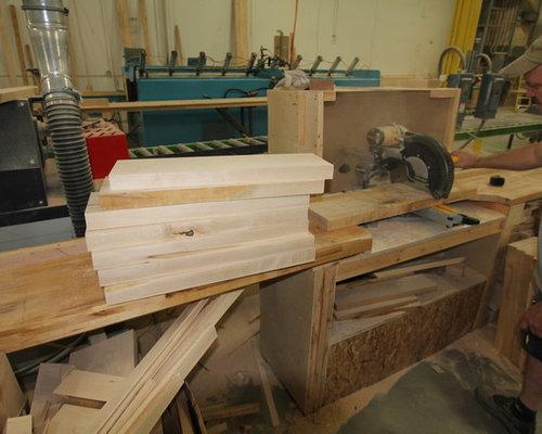 Rock Ola Shuffleboard Table Production Process