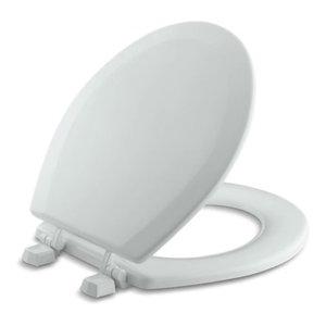 Astonishing Kohler Stonewood Elongated Toilet Seat Contemporary Machost Co Dining Chair Design Ideas Machostcouk