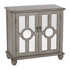 office star products office star taupe kendra storage console accent chests and cabinets