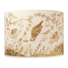 Gold Siskin Large Lamp Shade
