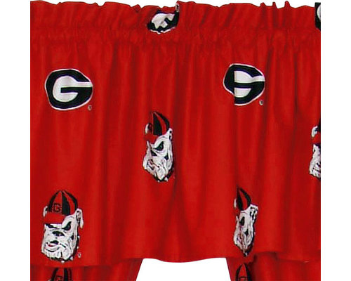 College Covers   NCAA Georgia Bulldogs Collegiate Window Treatment Valance    Products