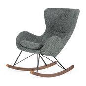 Modrest Ikard Modern Gray Sheep Rocking Chair