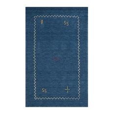 """Safavieh Himalayan HIM583A 2'3""""x10' Blue Rug"""
