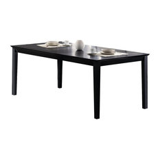 Coaster Louise Collection Black Dining Table