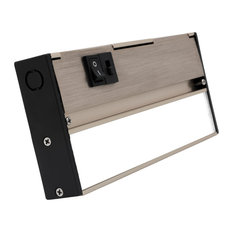 NUC-5 Series Selectable LED Under Cabinet Light, Nickel, 8