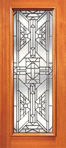 Exceptionnel Ornate Design Beveled Glass Entry Door, Triple Glazed Glass Option   Front  Doors