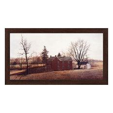 """Long Shadows"" Framed Art Print by David Knowlton, 39.25""x21.25"""