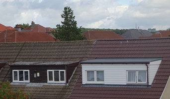 New Single Ply Dormer Roof on the Right