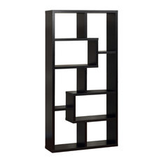 Furniture Of America E Commerce By Enitial Lab Rhea Bookcase Black Bookcases
