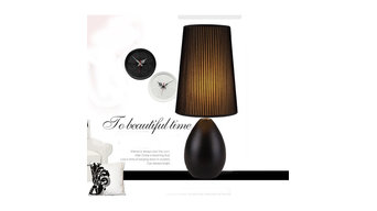 Modern Bedside table lamp (Matte ceramic)