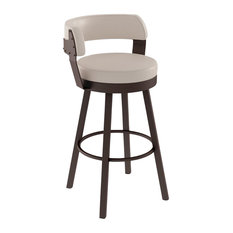 Amisco Russell Swivel Stool 26-inch