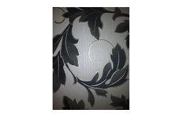 Charmed Wallpaper, White/Black, Roll