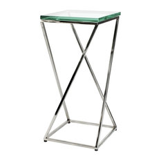 Glass Side Table Eichholtz Clarion