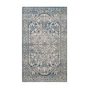 Safavieh Artisan Collection ATN318 Rug, Silver/Blue, 10'x14'