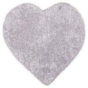 Tom Tailor Kids Rug, Heart, Grey, 100x100 cm