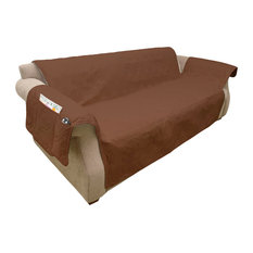 PETMAKER   Furniture Cover, 100% Waterproof Protector Cover For Couch/Sofa,  Brown