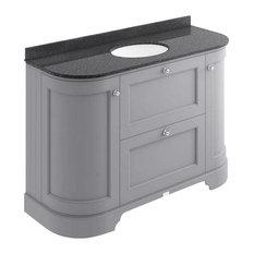 1200 mm 2-Drawer, 2-Door Basin Cabinet, Plummett Grey