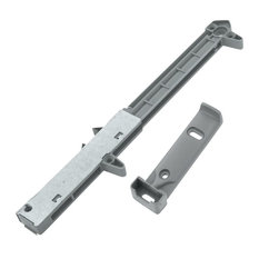 Rok Hardware Soft Close Cabinet Drawer Damper / Adapter for Wood Drawers, Gray,
