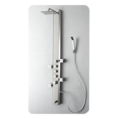 Fresca Prato Shower Panel, FSP8007BS