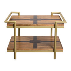 C.G. Sparks   Sybel Brass Deco Coffee Table   Coffee Tables