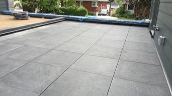 Garage Roof Top Patio