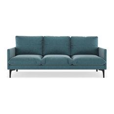Kobe Sofa Mod Velvet Steel Blue