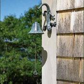 Lizard Garden Bell